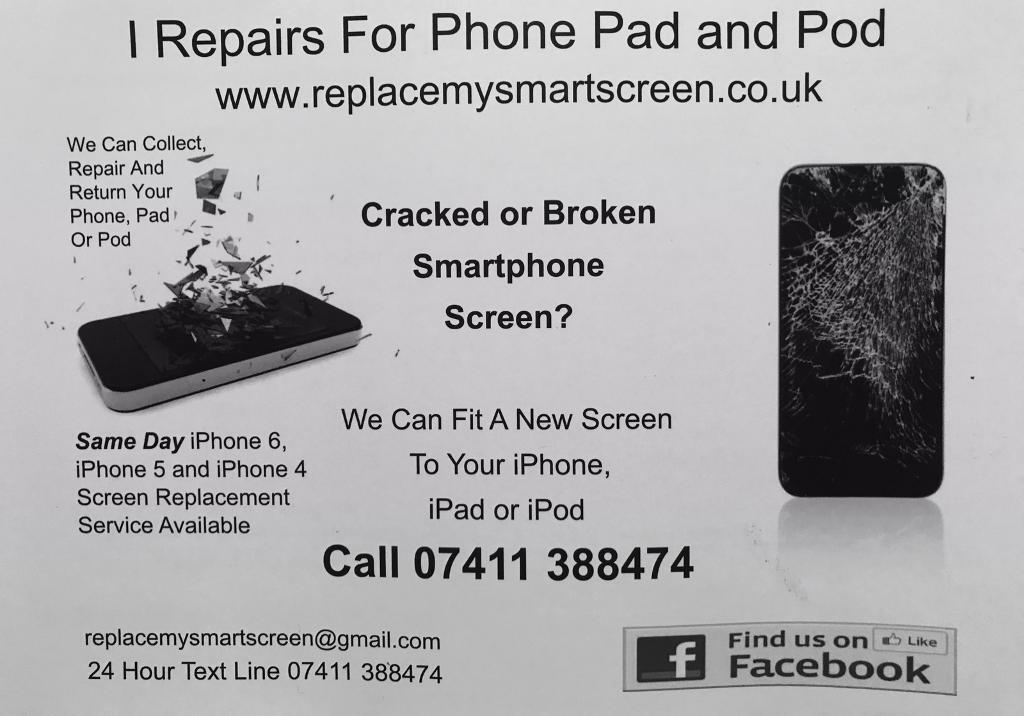 iPhone & iPad screen repair