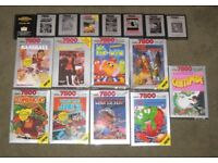 ATARI 7800 - I am looking for games, a console, and any accessories.