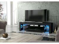 *BRAND NEW* ASSEMBLED RGB LED TV STAND 160CM-BLACK