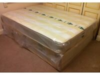 ***New*** King Size Divan Bed with Mattress