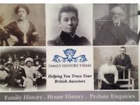 Family History and Genealogy Research
