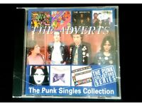 Compilation CD by 70s punks The Adverts called The Punk Singles Collection