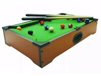 NEW mini table top pool table
