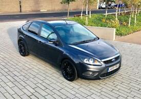 FORD FOCUS 1.8 ZETEC 5d 125 BHP (grey) 2010