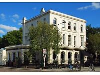Part Time Staff required for Lovely Hackney Pub overlooking Victoria Park