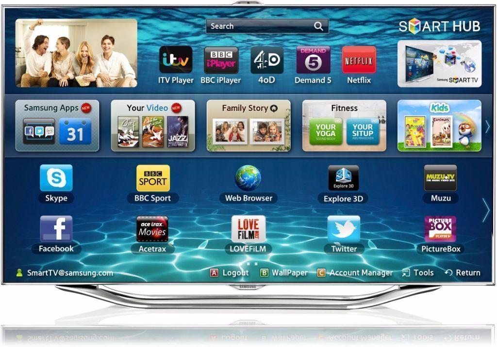 samsung 40 smart internet 3d led full hd 1080p tv built in wifi series 8 ue40es8000 in harrow. Black Bedroom Furniture Sets. Home Design Ideas