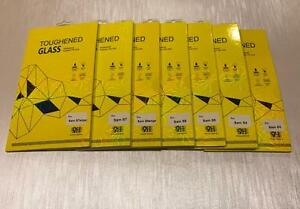 Samsung Galaxy Mobile Phone Toughened Glass Screen Protectors 9H Oleophobic - 100% Guaranteed!
