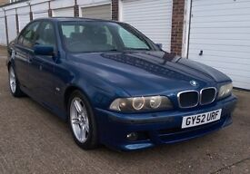 2002 BMW 520I SPORT AUTO SALOON HISTORY AND WARRANTY ( t-z awesome-cars)