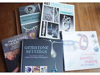 6 Jewellery Making Books Lot