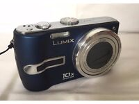Panasonic Lumix DMC-TZ3 Digital Camera - (7.2MP, 10x Optical Zoom) Antishake, Blue
