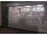 Roller Shutters, Aluminium Shop Front, Glass Shop Front, Shop fitting, Shutter & Glass Replacement