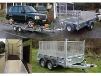 ifor williams car trailer hire Aberdeen | rental from £30/day