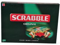 SCRABBLE BOARD GAME STILL SEALED AND SCRABBLE DICTIONARY AS NEW GREAT GIFT