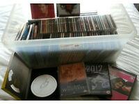 Joblot of cds & dvds