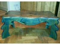 Pine coffee table hand crafted