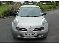2004 NISSAN MICRA 1.2 S 28000 MILES ONE LADY OWNER.