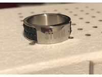 Mens STORM ring , size W, very good condition