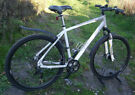 "Carrera Crossfire 3 disc mens hybrid bike, 21"" aluminium frame, SRAM 24 speed, 700c wheels"