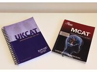 Medicine Entry Exam Kaplan UKCAT; MCAT Crash Course Test Prep Book; Strategies, Questions & Answers