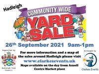 Hadleigh Community Yard Sale