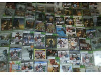 About 70 X XBOX 360 AND PS3 GAMES,Or £5 Each.