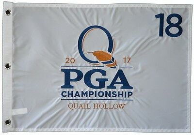 2017 OFFICIAL PGA Championship (Quail Hollow) EMBROIDERED Golf  FLAG