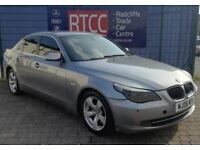 2006 (06 reg), BMW 5 Series 2.0 520d SE 4dr Saloon, AA COVER & AU WARRANTY INCLUDED, £2,495 ono