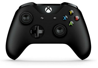 Genuine Microsoft 6Cl 00001 Xbox One S Black Wireless Bluetooth Controller  Gst5