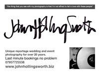 Post Lockdown Wedding Specials from £300
