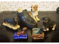 Home Decor/ Job Lot - Assorted Dog Small Ornaments £5 for All