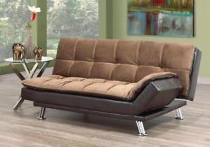 Brown Elephant Skin Sofa Bed (BD-1650)