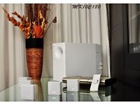 BOSE Lifestyle 8 Series II System. Stunning White, Powerful, Room Shaking Bass