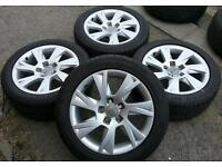 """17"""" alloys wheels wheels & tyres Audi A4 A5 A6 VW transporter T4 van Caravelle Camper"""