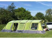 Vango Evoque 600 Airbeam Tent (PLUS Vango Carpet and Footprint) Excellent Condition.