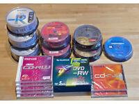 Blank DVD & Blu ray media