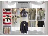 Winter second hand clothing for only £1.5 per kg. Bargain prices.