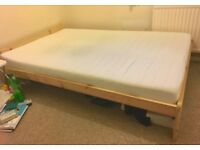 Double bed + mattress [available from September 1]