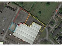 Southside, Large Secure Yard or available in two smaller pieces, next to J1A M74,