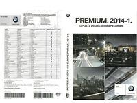 Satnav BMW Genuine Map Update DVD`s Premium 2014