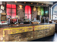 Experienced Bar Staff needed for busy bar, restaurant and live music venue in the Northern Quarter.