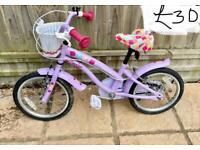 Girls beautiful bike