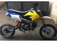 140cc stomp Pitbike pit bike like dt cr yz Kx ktm rs etc