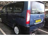 peugeot expert teppe 2011 61 plate 1.6 hdi disabled wheel chair lift electric lift 6 seater