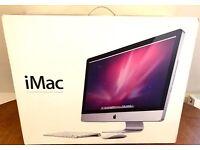"Apple 27"" IMAC 3TB 16GB Original Box Magic Mouse Keyboard & External USB Drive"
