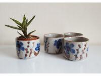 Ceramic plant pots / cups