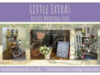 Little Extras Rustic Wedding Props For Hire