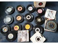 Job Lot of Vinyl - 45's & LP's from Elvis up to the 80's over 200