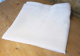 "Brand New Soft White Voile Curtain 52"" x 59"""