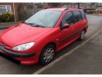 2004 Peugeot 206 SW 1.4 HDI S For Sale