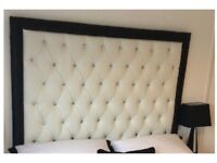 Double headboard brand new faux leather